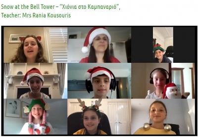 Χιόνια στο Καμπαναριό - Year 4 Friday Teacher: Rania Kousouris