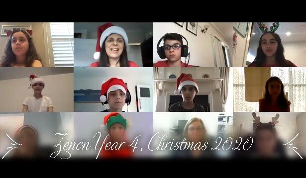 Year 4 - κυρία Ράνια Χριστούγεννα